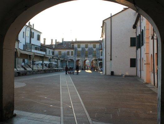 Piazza San Parisio a Treviso