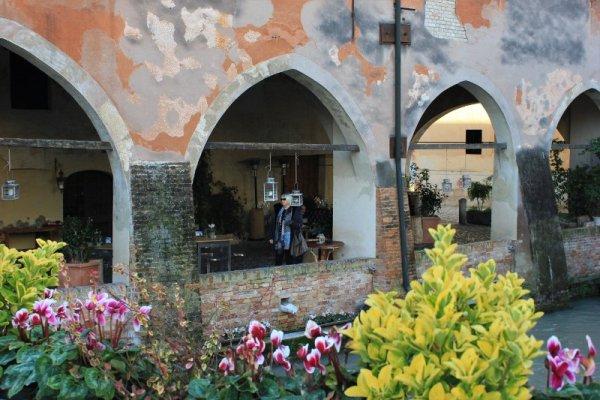 Uno scorcio del centro storico di Treviso