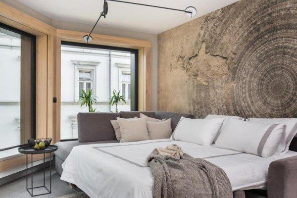 Camera da letto Academia Apartments Cracovia