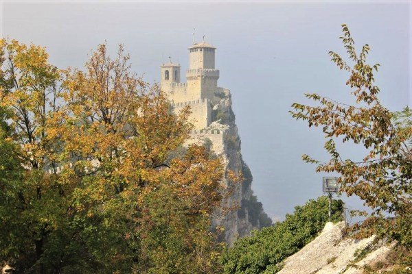 Panorama della Prima Torre di San Marino