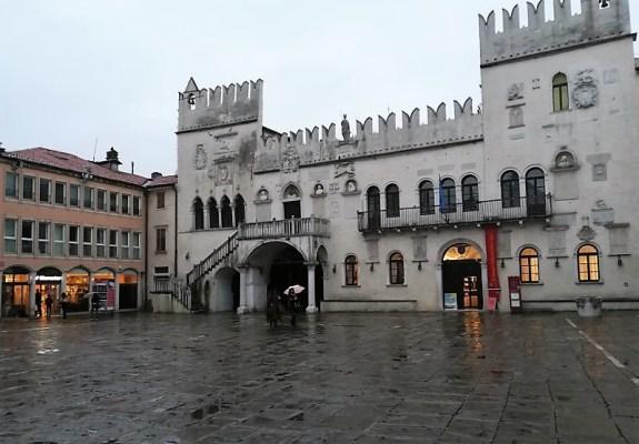 Il Palazzo Pretorio di Capodistria in Slovenia
