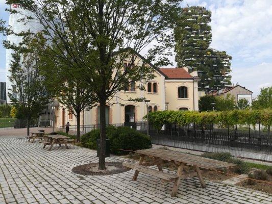 Edificio della Fondazione Riccardo Catella a Milano