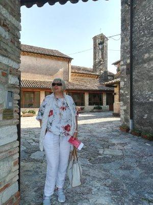 L'ingresso al Convento di Sant'Anna ad Asolo