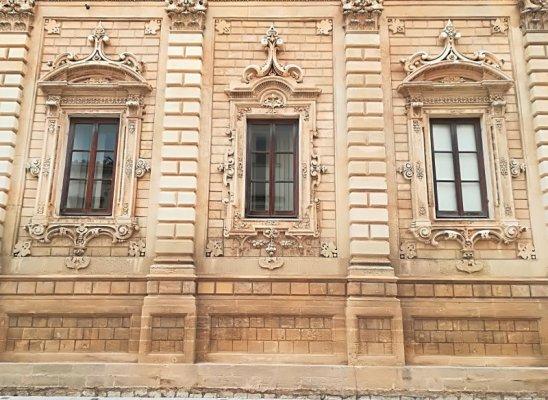 Facciata del Convento dei Celestini a Lecce