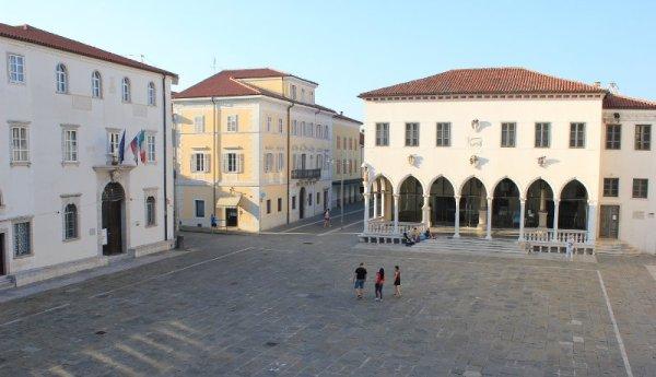 Piazza Tito a Capodistria