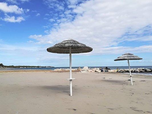 La spiaggia di Alimini nel Salento adriatico