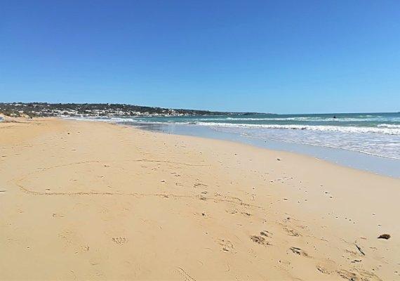 La spiaggia di Pescoluse nel Salento ionico