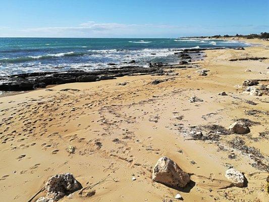 La spiaggia di Pescoluse nel Salento