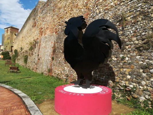 Il Gallo Nero simbolo del Chianti Classico