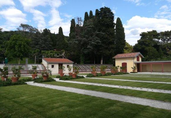 Le Serre del Castello di Miramare a Trieste
