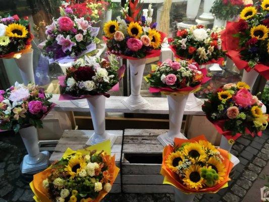 Il mercato dei fiori a Breslavia