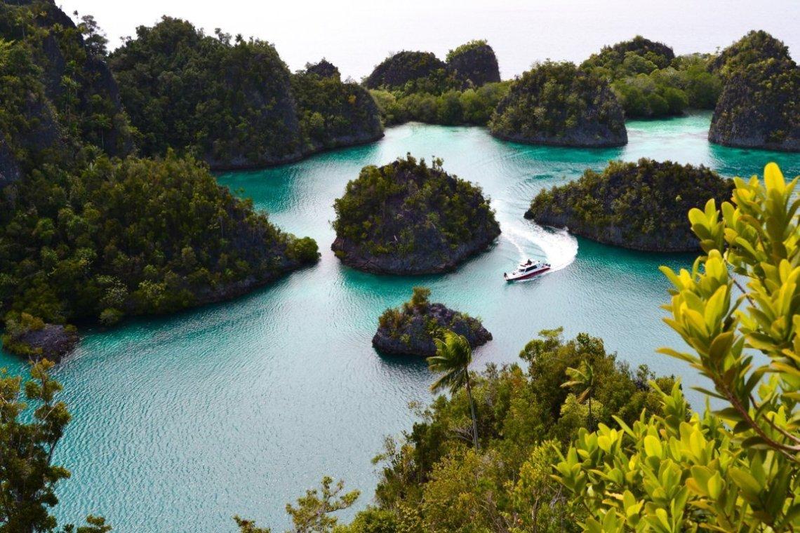 Viaggio di nozze in Asia Raja Ampat