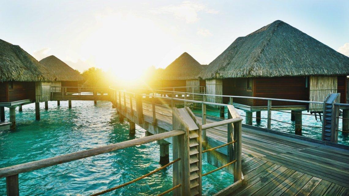 Resort con Bungalow sull'acqua