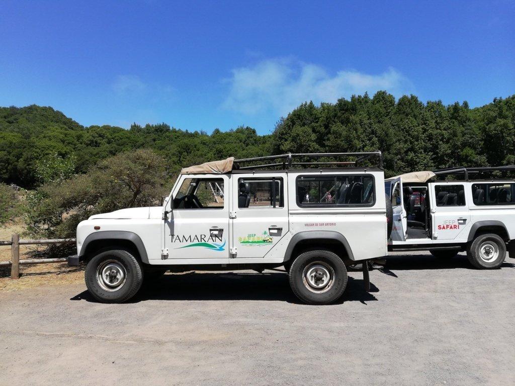 Jeep a La Gomera