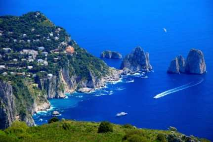 Postcard From: Capri Tiberio Palace, Italy