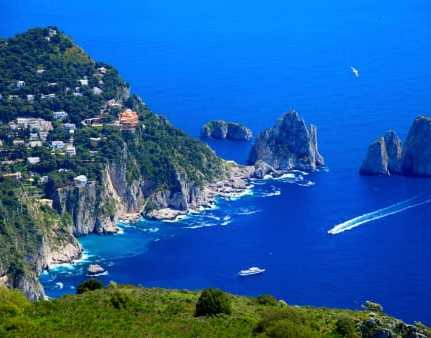 Postcard From: Capri Tiberio Palace, Capri