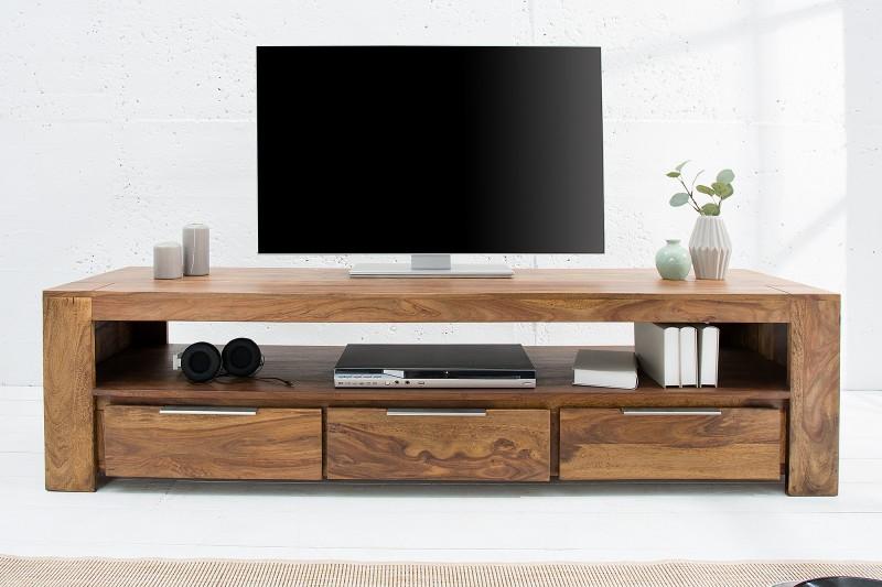 tv board makassar 170cm sheesham 38111