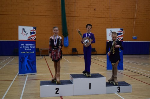 Kati 2nd in Mini Championships 2015
