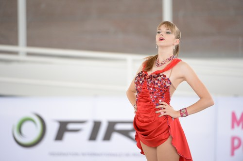 Paige's 14 Step Plus at World Championships 2015