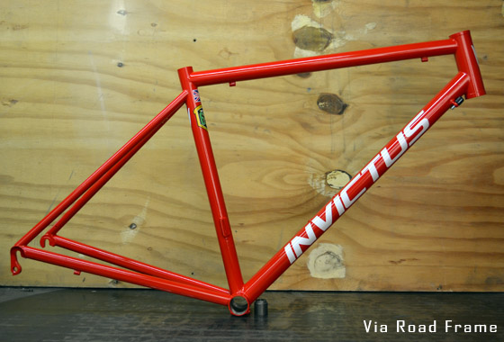 custom made road bike frame