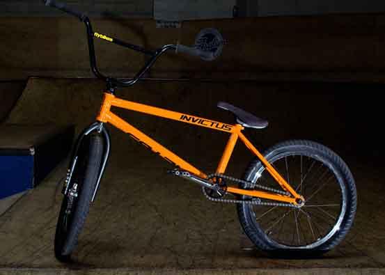 Custom made BMX bikes & park frames