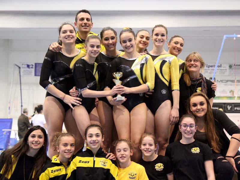 Campionato Serie B1: Vice campionesse regionali!