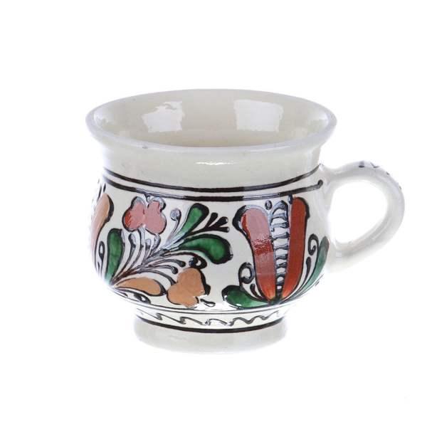 Ceasca vin / ceai / cafea ceramica colorata Corund 300 ml