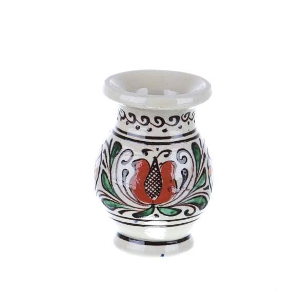 Vaza ceramica colorata Corund 10 cm