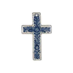 Cruce Ceramica albastra de Corund