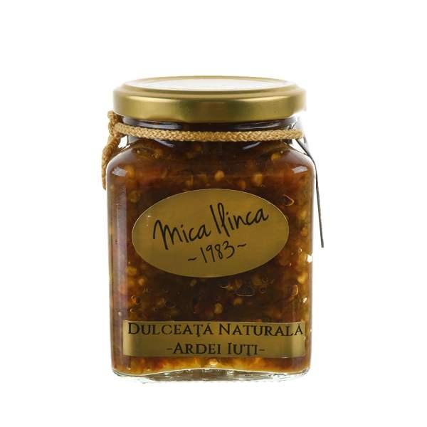 Dulceață naturală de ardei iuți Mica Ilinca 330 g