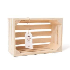"""Lădiță din lemn de brad 30 x 20 x 12 cm """"Praslea"""""""