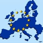 mapa UE