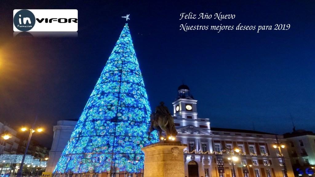 Feliz Año Nuevo, nuestros mejores deseos para 2019