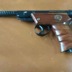globus (brown)  air pistol (.177 cal)