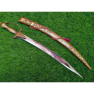 BRASS WEDDING SWORD (Full brass cover sword)
