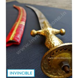RAJPUTANA SWORD (34 Inch long sword) (Red Cover)