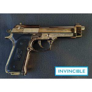 Beretta 9mm Black Cigarette Lighter Replica Gun