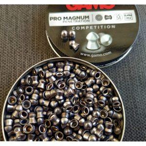 GAMO PRO MAGNUM .177 / 4.5MM (500 PELLETS / TIN)(7.6 grain pellets)