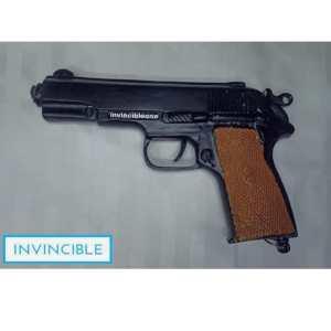 CORK GUN BERETTA STYLE (brown) (SOUND GUN)
