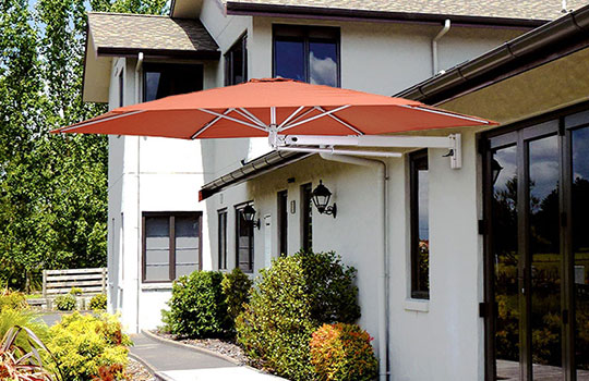 Wall Mounted Umbrellas
