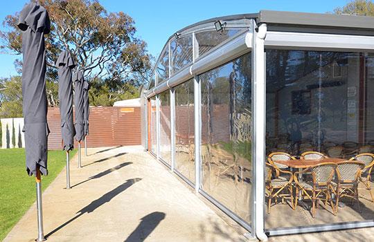 Outdoor Blinds Adelaide   Outdoor Pelmets