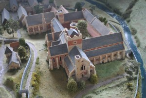 Mellifont Abbey Model