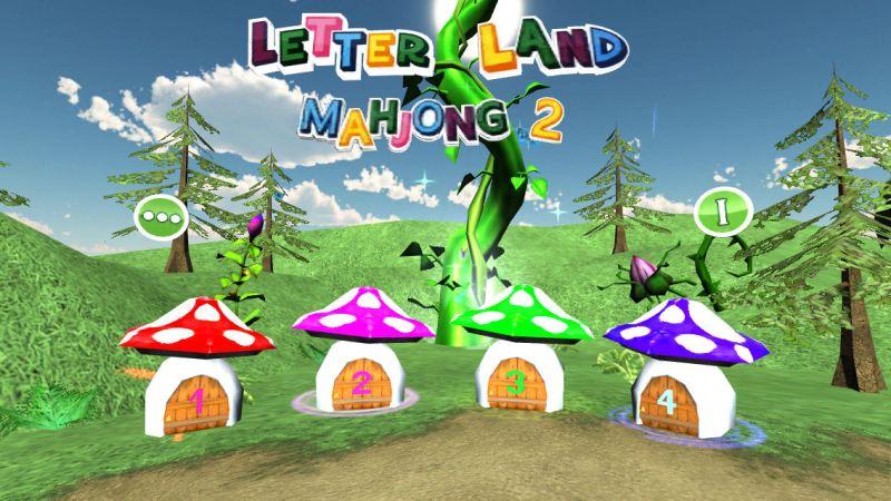 Letter Land Mahjong 2 (Apple iPhone5) - 01