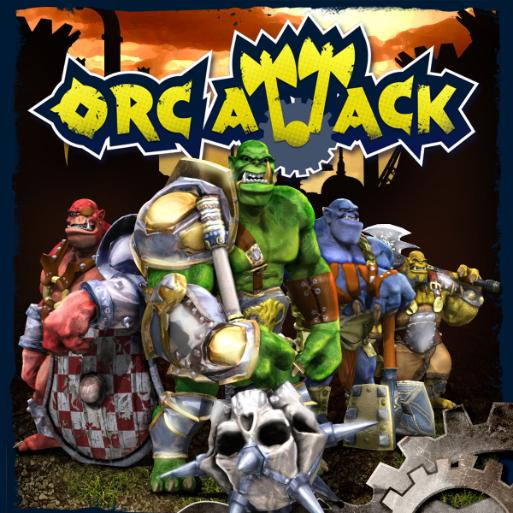 OrcAttack Box Art