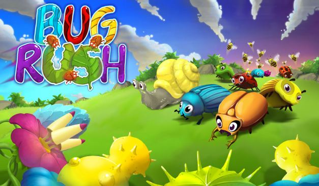 Title Screen - Bug Rush (Android)