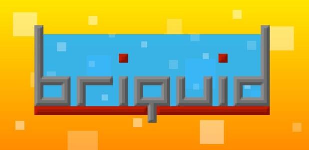 Briquid logo + background