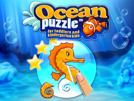 Ocean Puzzle For Toddlers (iOS & Android) - 01