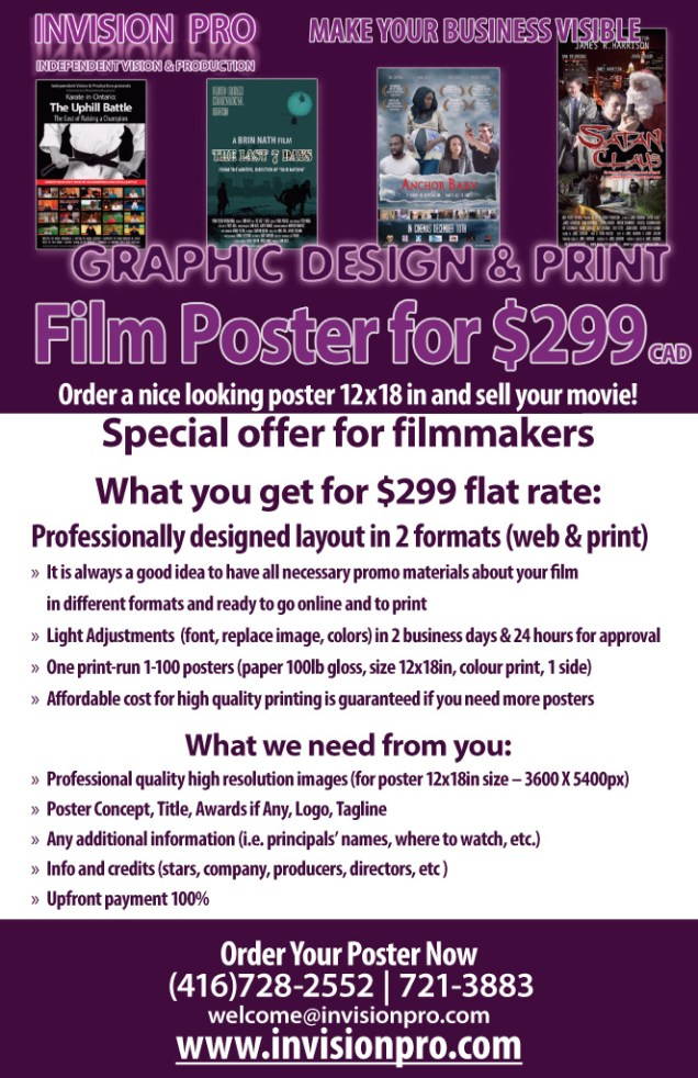 Film Poster for $299