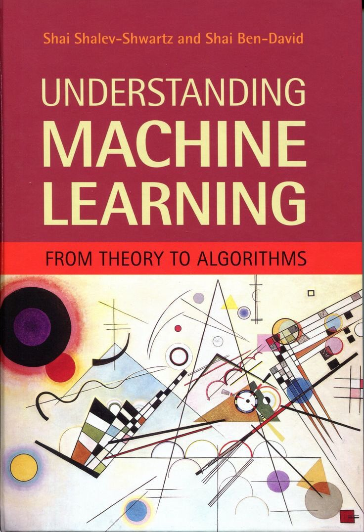 Understanding Machine Learning: From Theory to Algorithms – Book
