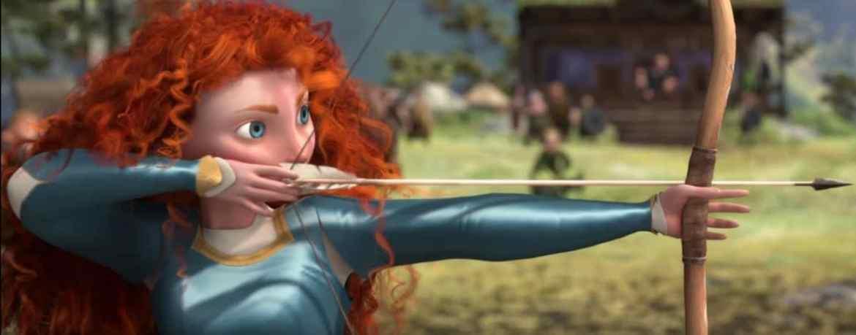 Mérida de Brave con el arco
